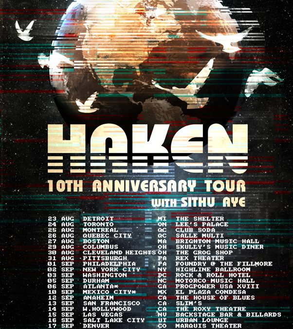 Haken Release New Video 'Lapse' In Advance Of North American Tour
