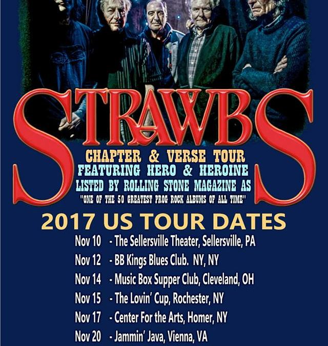 Strawbs Chapter & Verse US Tour