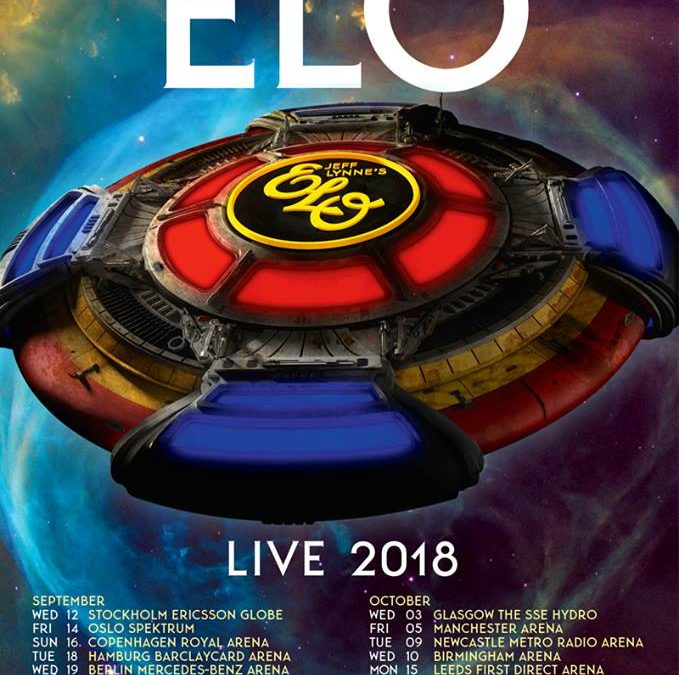 JEFF LYNNE'S ELO ANNOUNCES  2018 UK, IRELAND & EUROPEAN TOUR