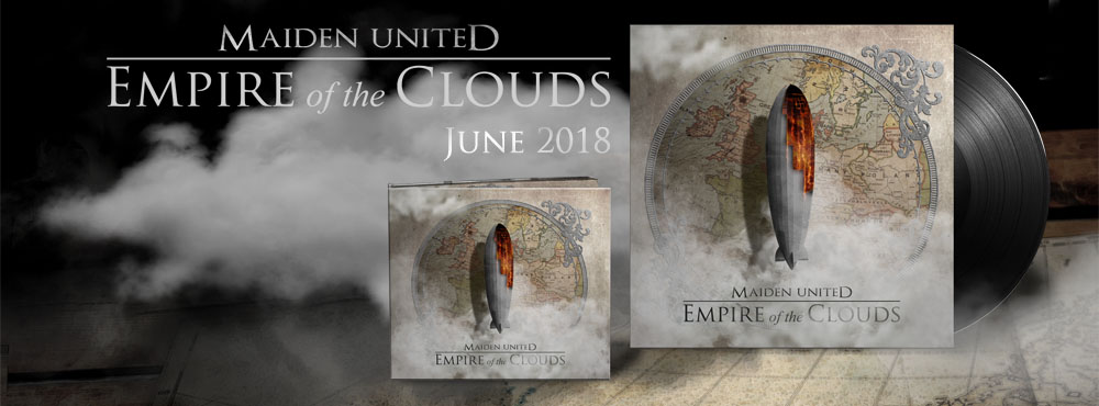 Maiden uniteD to Release Empire of the Clouds
