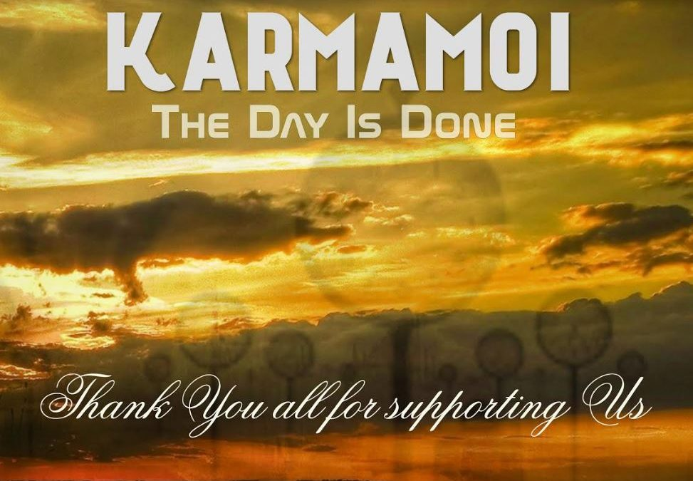 """Karmamoi Launch Crowdfunding  For Upcoming Album """"The Day is Done"""""""