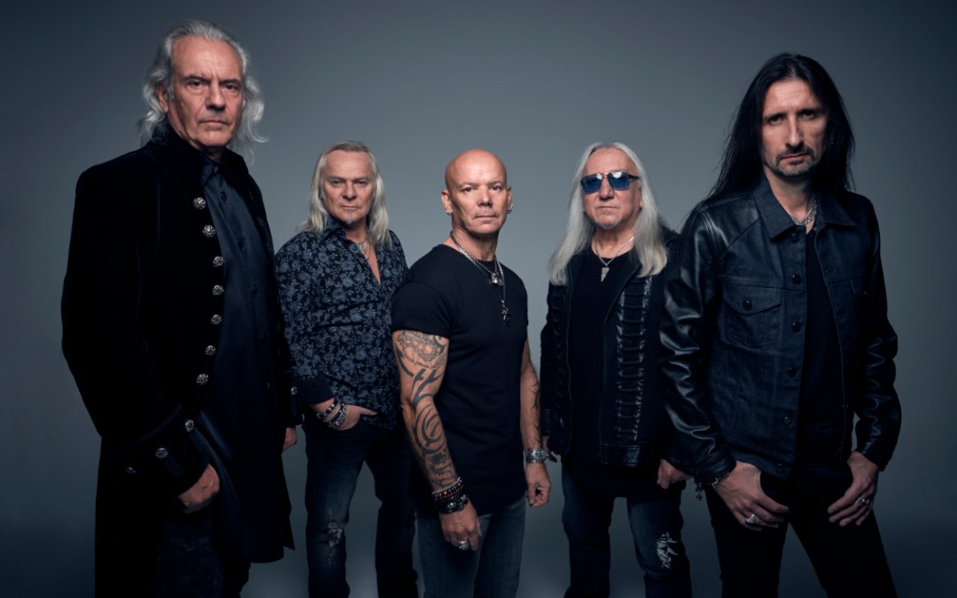 """URIAH HEEP are pleased to announce the upcoming release of their 25th studio album """"Living the Dream"""""""