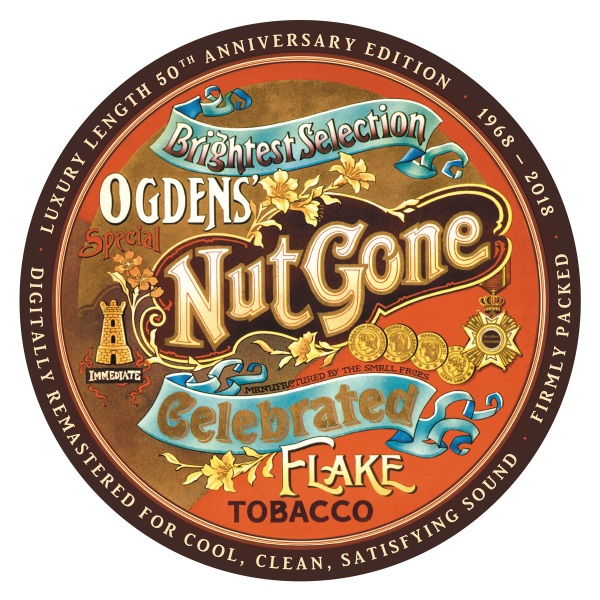 "Small Faces ""Ogdens' Nut Gone Flake'' 50th Anniversary Deluxe-Editions Released October 26, 2018"