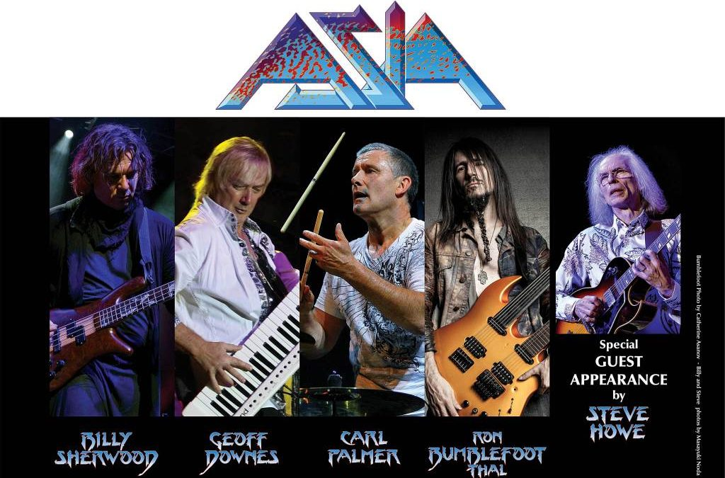 "The new ASIA set to embark on 2019 ""Royal Affair"" Tour with Yes, John Lodge Band, and Carl Palmer's ELP Legacy."