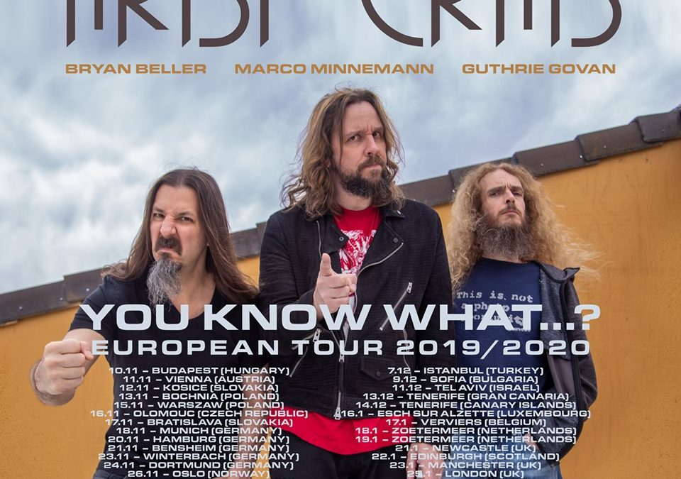 The Aristocrats release Tour details for Europe