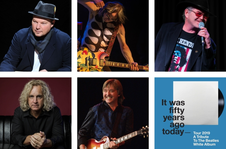 It Was Fifty Years Ago Today – Tour 2019 – A Tribute To The Beatles White Album feat. Christopher Cross, Todd Rundgren, Micky Dolenz, Jason Scheff and Joey Molland!