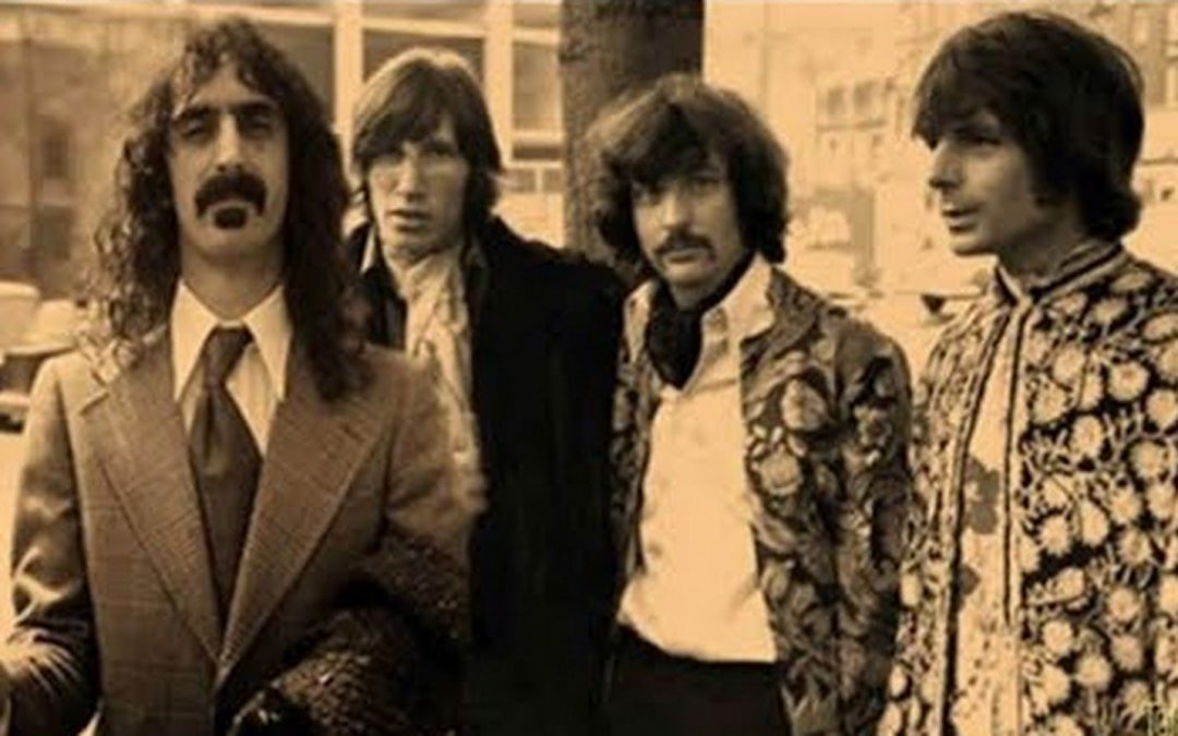 What happens when Pink Floyd performs Interstellar Overdrive with Frank Zappa