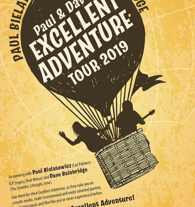 Paul and Dave's 'Excellent Adventure' extended for an appearance at 2019 ProgStock