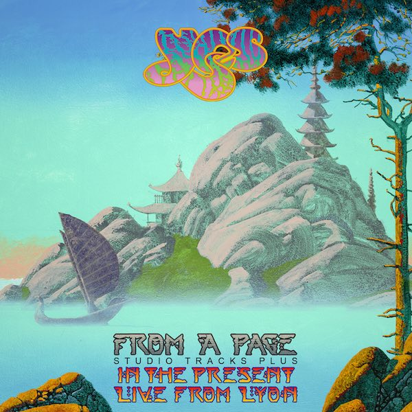 Legendary Prog Rock band YES releases 'From A Page' Mini-box Set