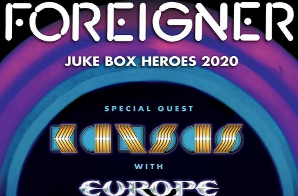 FOREIGNER launch JUKE BOX HEROES 2020 TOUR with special guest KANSAS, and  EUROPE