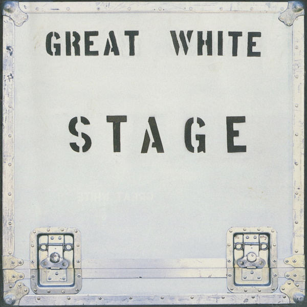 Hard Rock Legends GREAT WHITE Re-issue Long Out Of Print Live Album STAGE On Both CD & Vinyl!