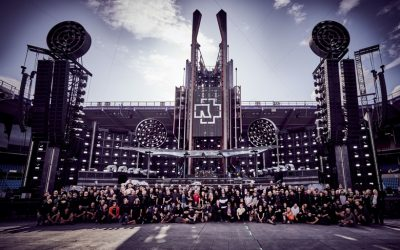 A High-Speed Time-Lapse Behind The Scenes Look At What It Takes To Set Up A Rammstein Stadium Show, Tickets On Sale Now!