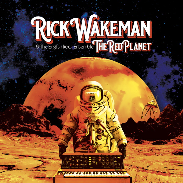 "Keyboard Legend Rick Wakeman & The English Rock Ensemble Return To Prog On New Album ""The Red Planet"""