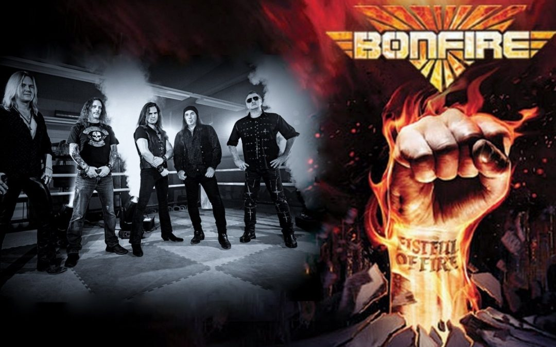 Bonfire's new album Fire will be released on April 03rd, 2020 via AFM Records