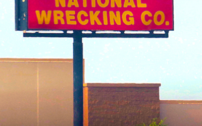 NATIONAL WRECKING COMPANY – NATIONAL WRECKING COMPANY – HYPERSPACE RECORDS