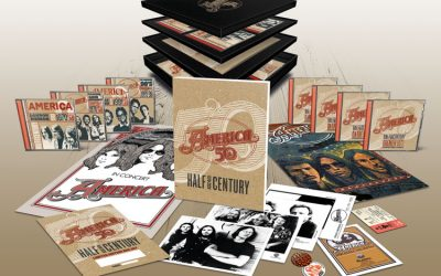 "America To Release ""Half Century"" Box Set To Celebrate 50th Anniversary!"