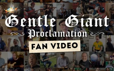 Gentle Giant Reunite Virtually For First Time In 4 Decades For New Video Along With Members of King Crimson, Yes and More!