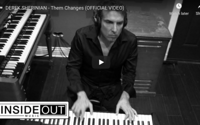 """DEREK SHERINIAN – launches video for a cover of Buddy Miles classic """"Them Changes"""", featuring  Joe Bonamassa"""