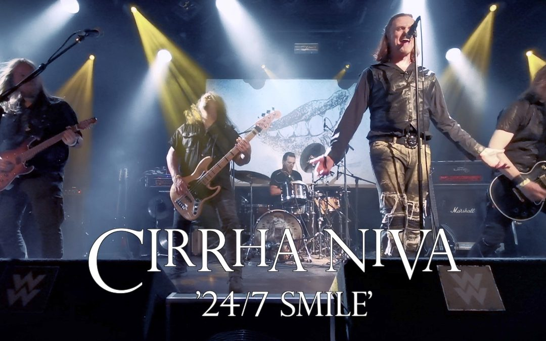Cirrha Niva Release New '24/7 Smile' Live Video!